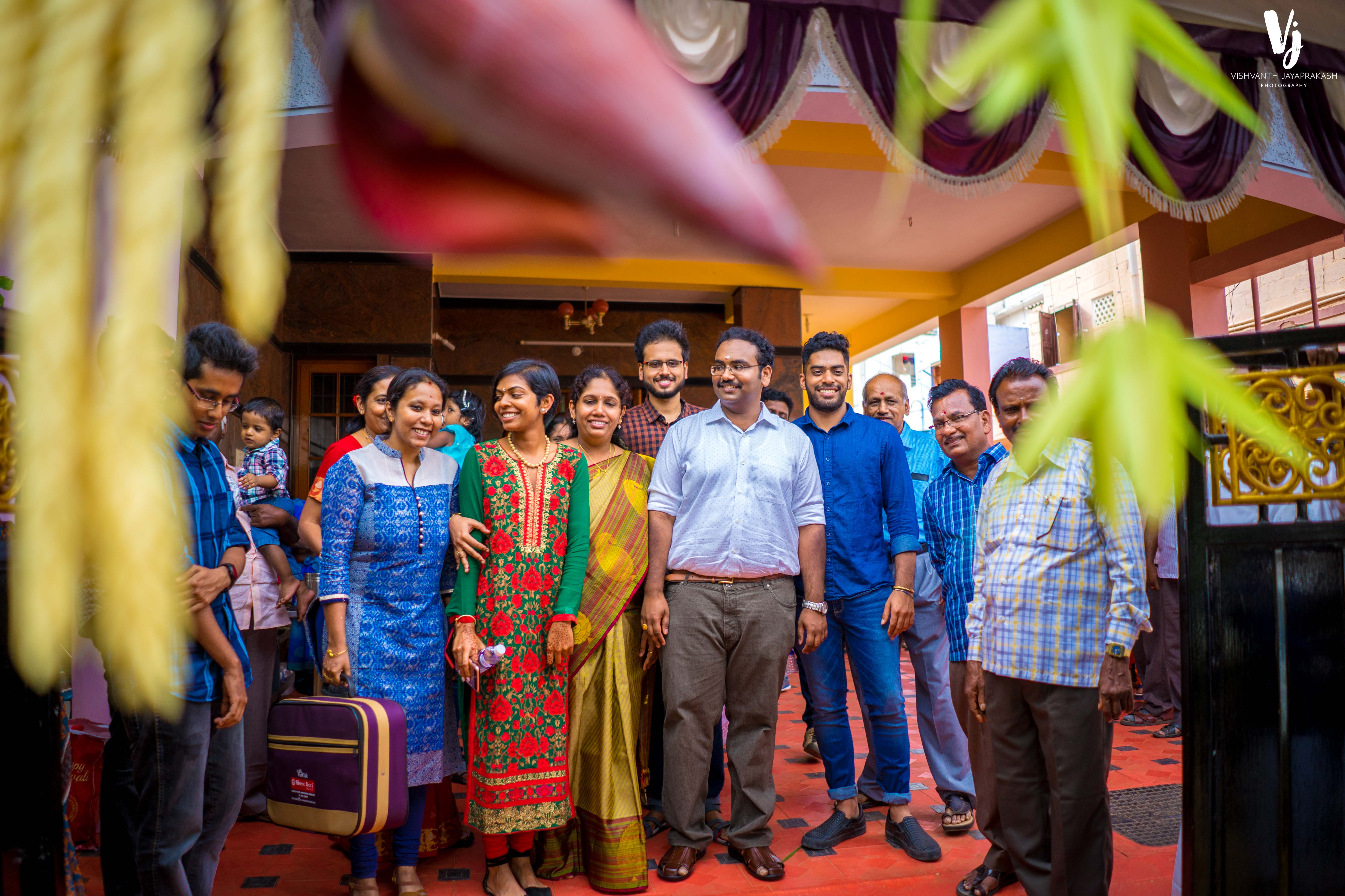 Saran & Subashini - Saamy Function