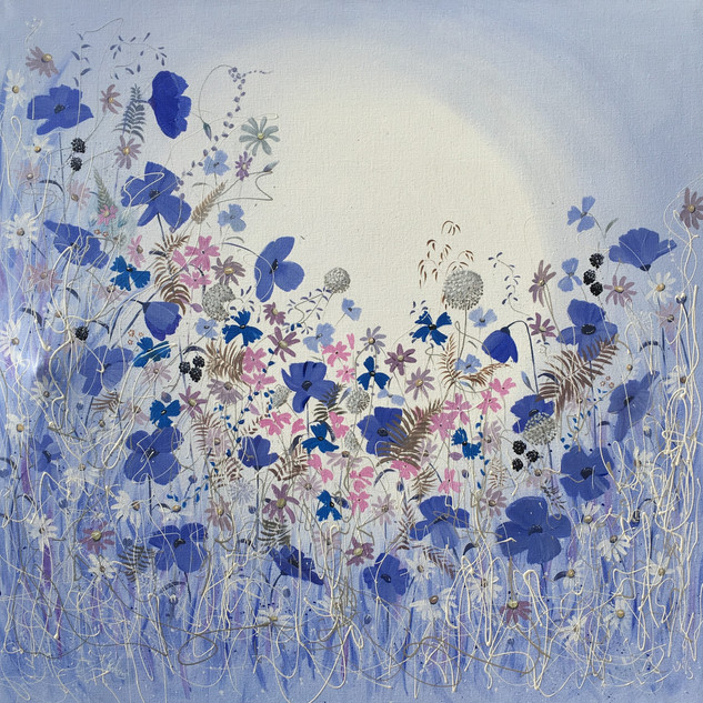 Blue Poppies SOLD