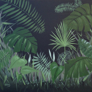 Tropical Leaves I