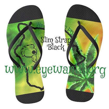 Rasta Hawaii Slippers (Flip Flops)