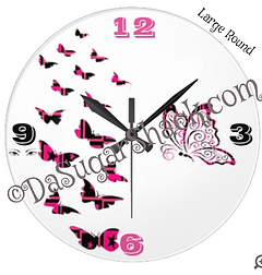 Time * Tick Tock Clocks & Watches. One of a kind,unique designs perfect for you and your home. Home decor makes a great gift also. ©DaSugarShack.com