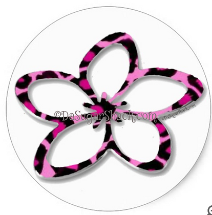 Pink Cheetah Plumeria (6 or 20 Count)