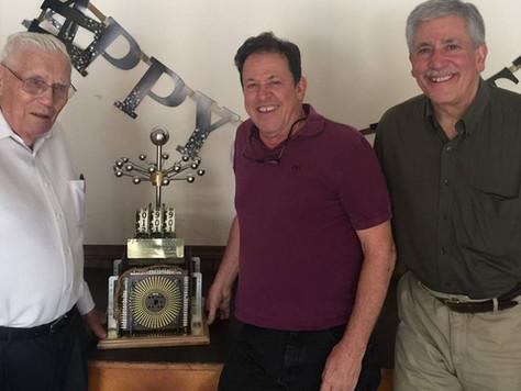 Wayne Neyens celebrates his 100th birthday!