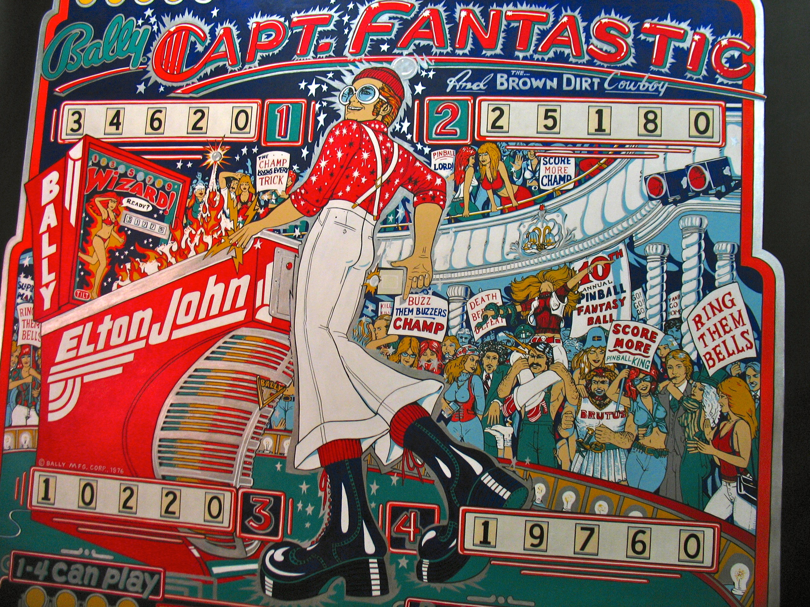 Captain Fantastic Mural