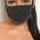 Thumbnail: Sparkly Black Mask