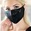 Thumbnail: Black Sequin Face Mask