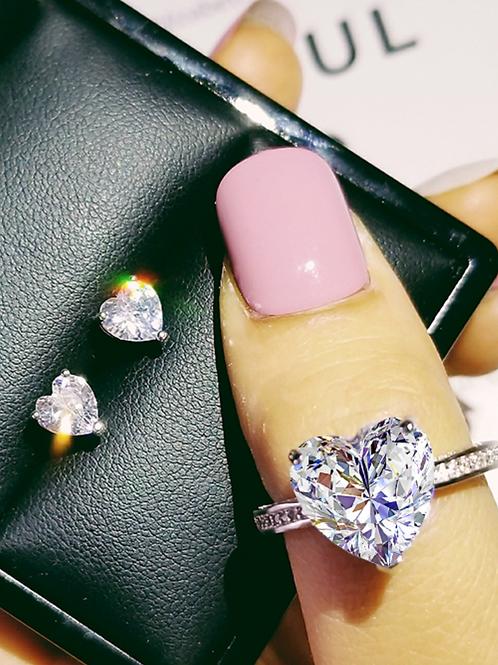 Heart Jewelry Set