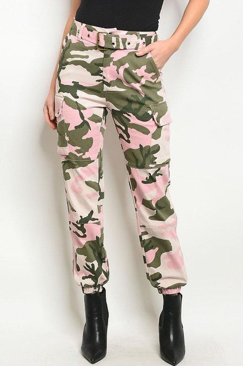 Pink Camo Pants