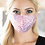 Thumbnail: Pink Sequin Face Mask