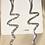 Thumbnail: Silver Snake Earrings