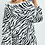 Thumbnail: Zebra Print Short Set