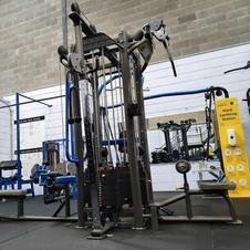 4 Bay Machine