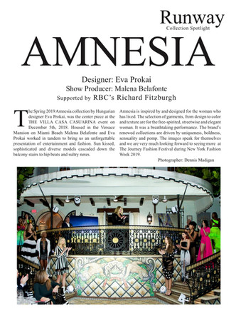 Amnesia Art Basel iFashion
