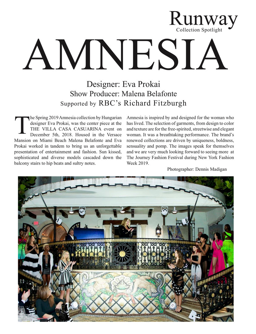 Amnesia Art Basel iFashion