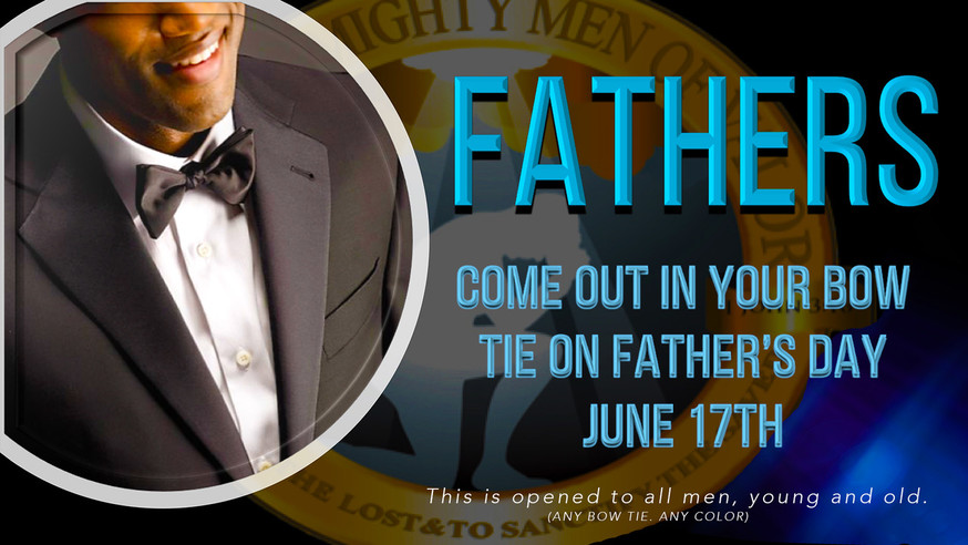 MMV Father's Day Bowtie Event