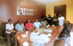 Breakfast group shot