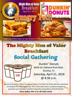 MMV Breakfast flyer