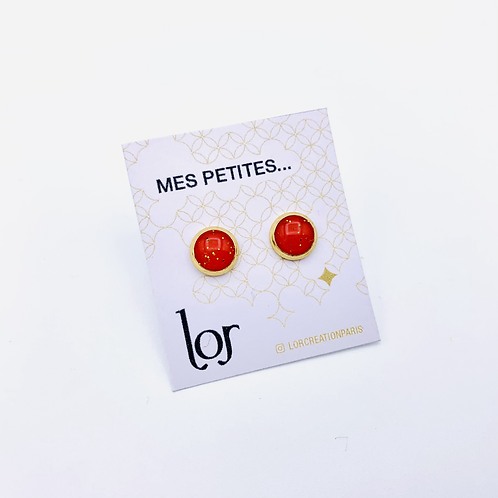 """""""Mes petites..."""" Rouge & Or"""