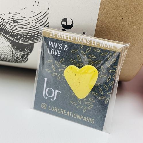 Pin's & Love Phosphorescent