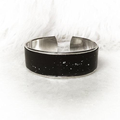 Shine Black Silver