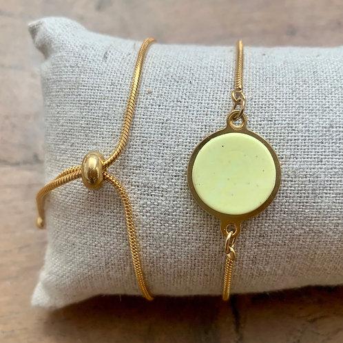 Bracelet serpentine Paille 1