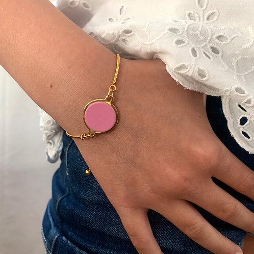Bracelet serpentine Rose