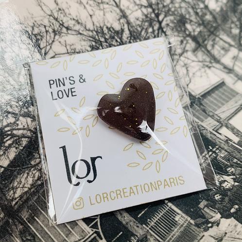 Pin's & Love Brou de noix