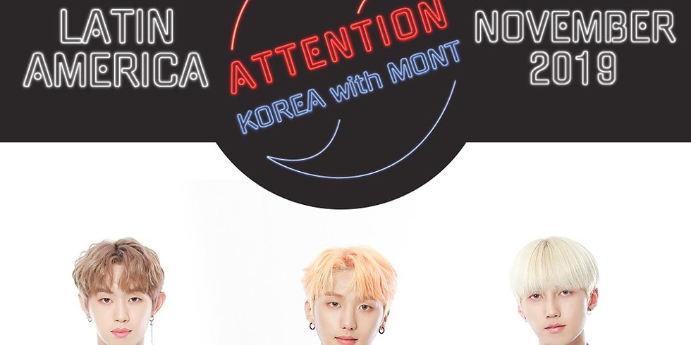 Attention Korea with M.O.N.T in Latin America