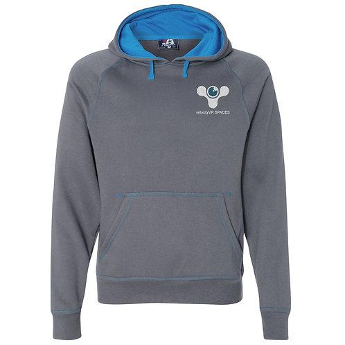Fleece Hooded Pullover Sweatshirt