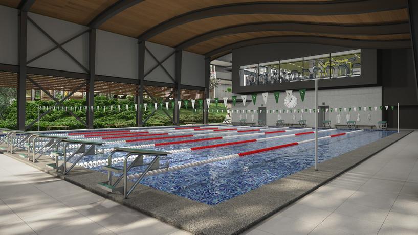 Santa Ana Country Club - Interior Pool