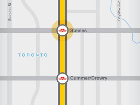 Yonge North Subway Extension is moving forward and here's what the map will look like