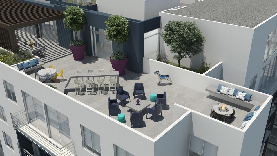 Bambu Rivera Club Residences - Terraza