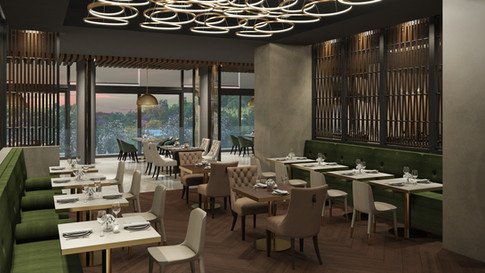 Santa Ana Country Club - Restaurante Formal