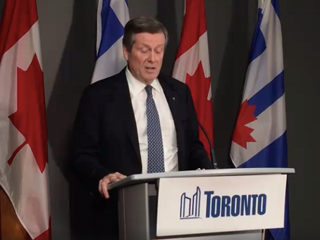 Mayor Tory Announces Economic Task Force to Help Businesses Affected by COVID-19