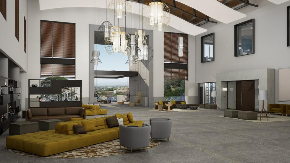 Santa Ana Country Club - Lobby