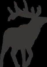 鹿シルエット