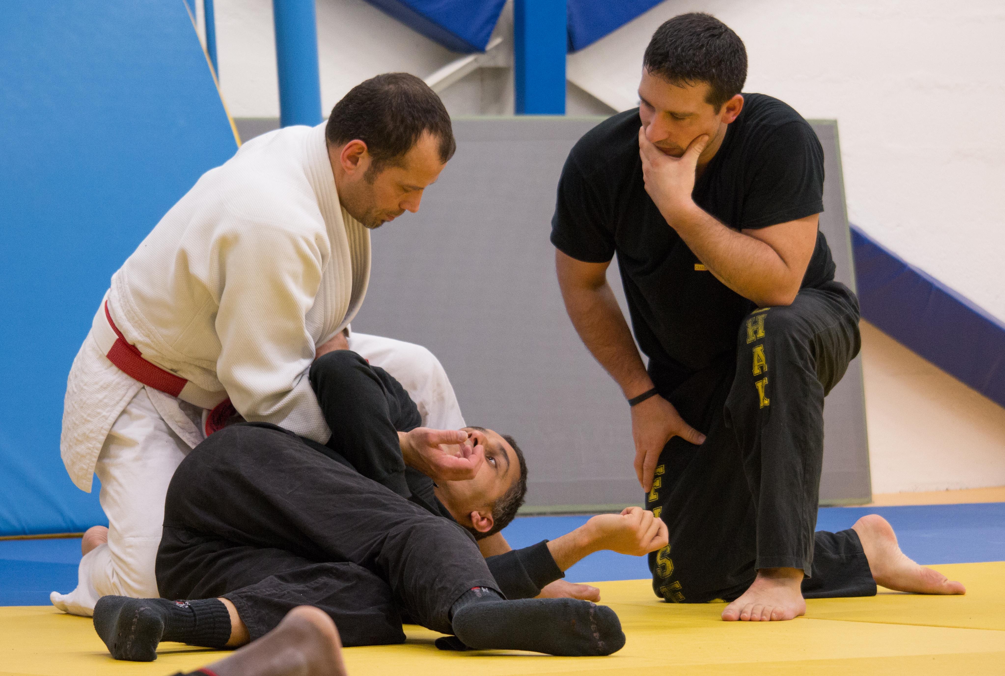 CHRISTOPHE GAGLIANO - Stage Judo