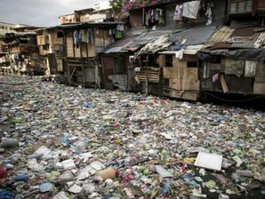 Pollution plastic