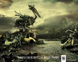 WWF affiches publicitaires creatives