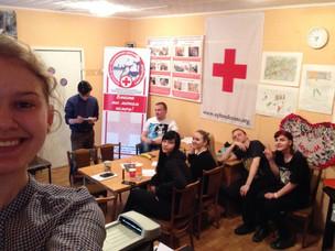 У Красного Креста Калининского района появился официальный аккаунт в Instagram
