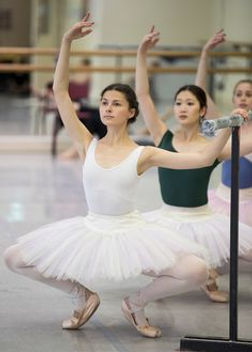 Valerie taking class Australian Ballet.j