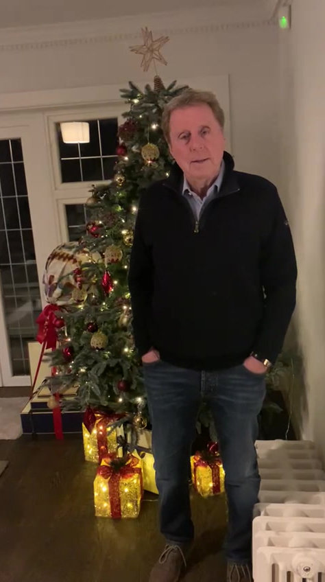 Harry Redknapp's Christmas Message 2020