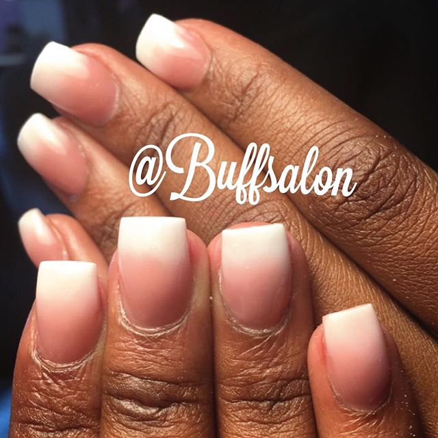 Shorty likes it classy #pinkandwhitenails #ombre  COME see us for the BEST SERVICE  AND PRODUCTS and