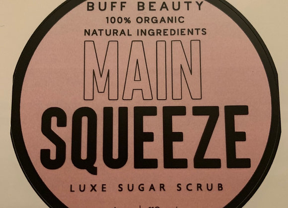 Main Squeeze 4oz sugar scrub