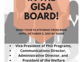 GISA 2021 FALL ELECTIONS!