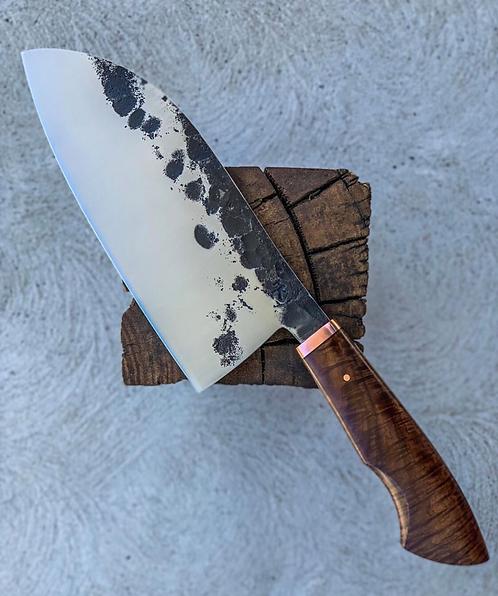 Handmade D2 Steel Kitchen Cleaver