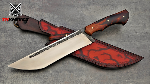 Handmade 1095 Carbon Steel Camping Hunting Knife