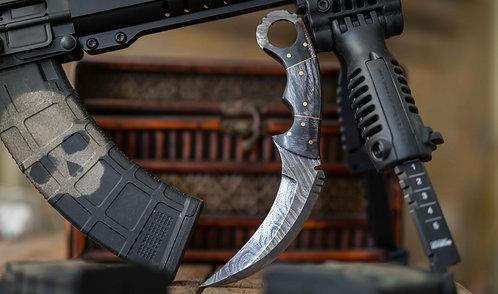 Damascus Steel Karambit Knife