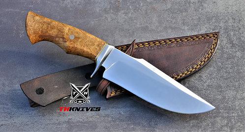 Handmade D2 Steel Hunting Knife