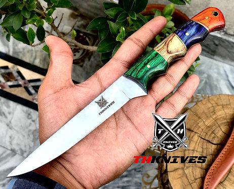 Full Tang J2 Steel High Polishes Blade Filet Knife